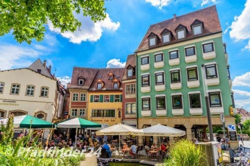 バンベルク 旧市街の緑の家屋