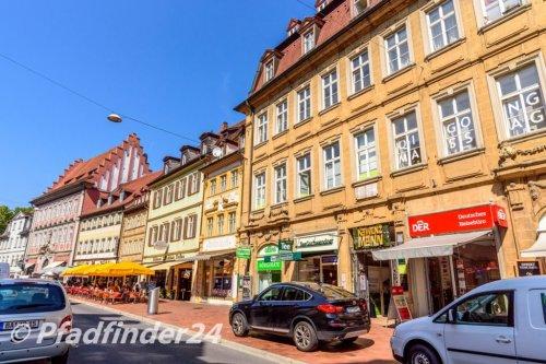 バンベルク 旧市街の古い家屋