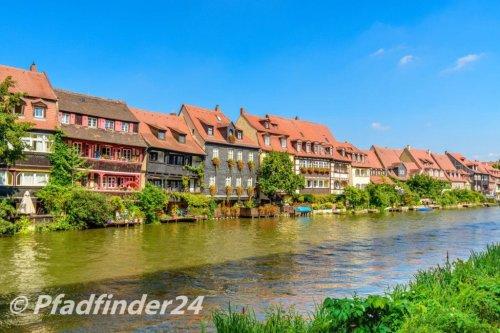 バンベルク 河沿いにならぶ家屋