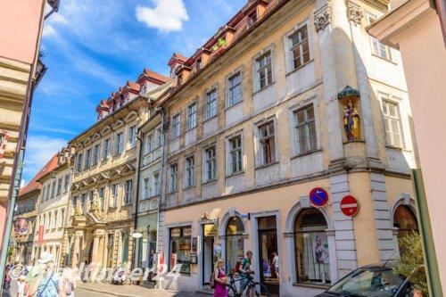 バンベルク 古風な家屋
