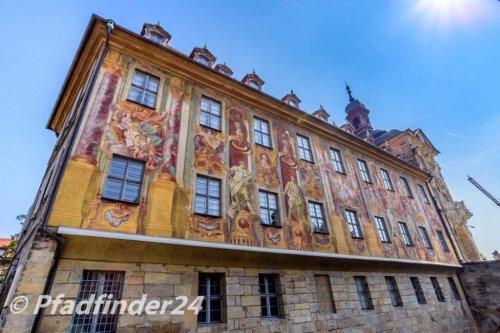 バンベルク 旧市役所の壁画