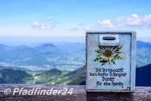 ベルヒテスガーデン アルプスの山々
