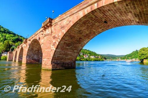 石橋とネッカー河