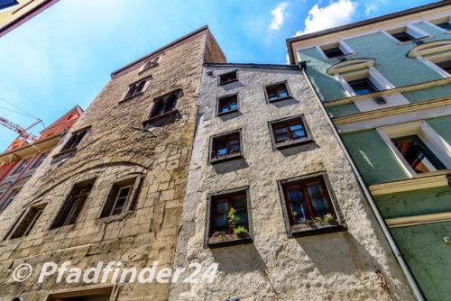 石作の家屋