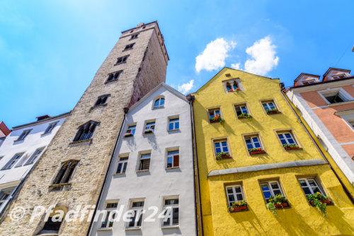 レーゲンスブルクの塔