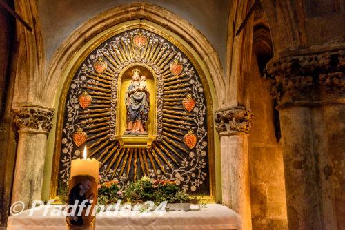 ドームの中のキリスト像