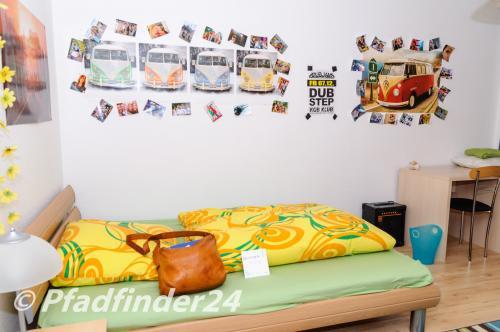 フライブルク大学 宿舎のベット