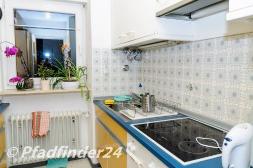 フライブルク大学 宿舎のキッチン